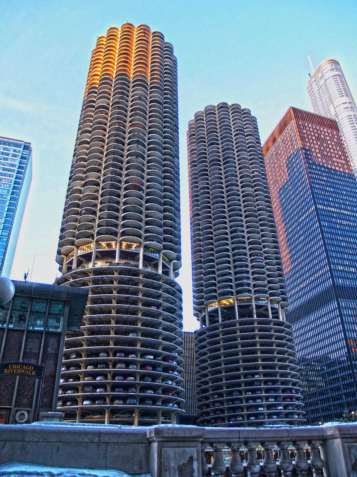 EL PARKING DEL MUNDO (CHICAGO. EE.UU)